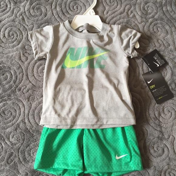 e43572d961 Nike Matching Sets | Nwt Drifit Shirt Mesh Shorts Outfit 12 Mths ...